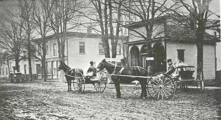 1896 : First Rural Free Mail Delivery in State of Michigan Offered in Climax, Michigan